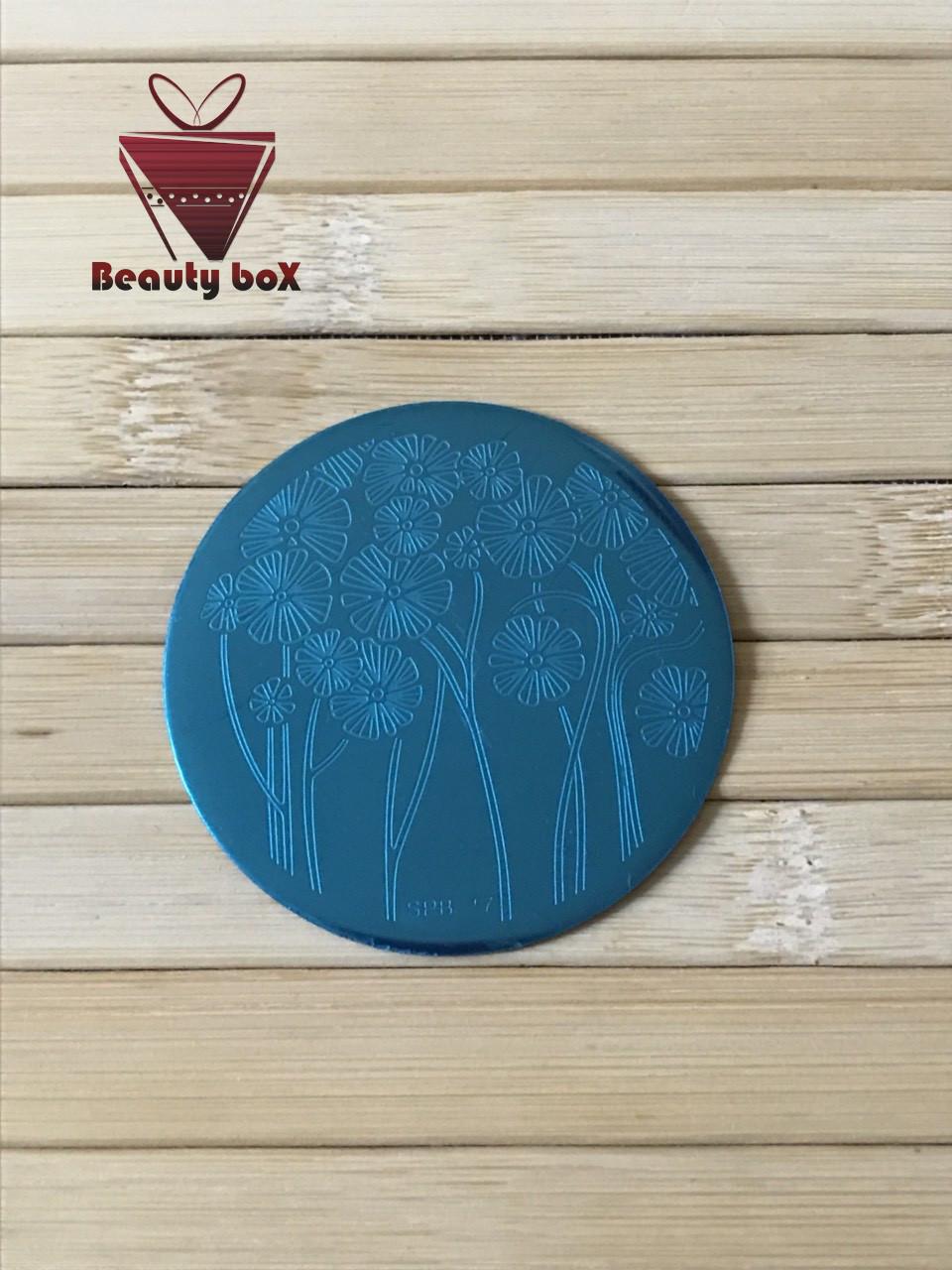 Пластина для стемпинга (круглая)  SPB 7