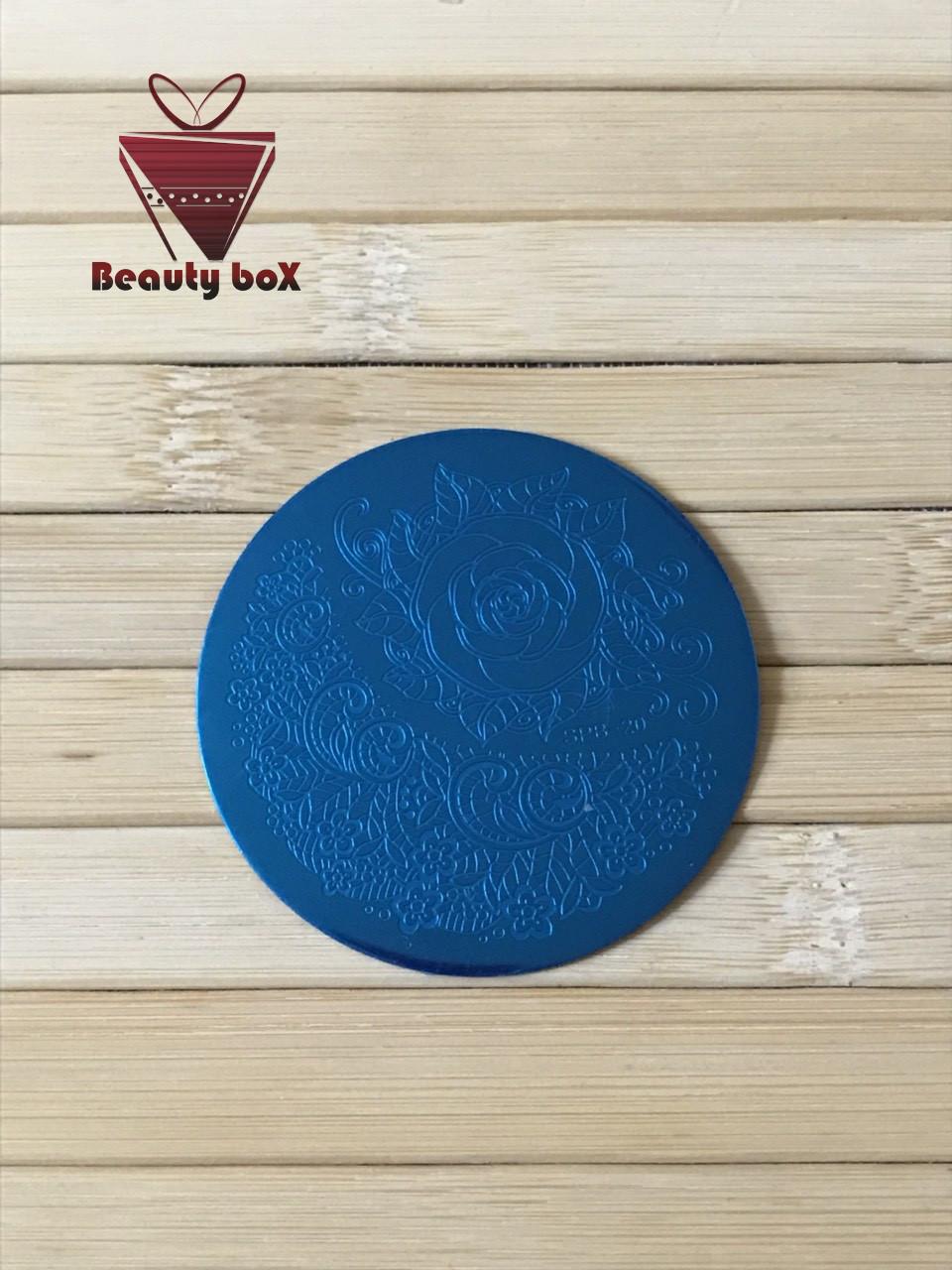 Пластина для стемпинга (круглая) SPB 20