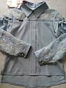Шикарная школьная блузка Suzie Альба, цвет голубой Размер 140, фото 3