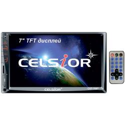 """Двухдиновый мультимедийный центр с 7"""" TFT сенсорным дисплеем  Celsior CST-7007"""