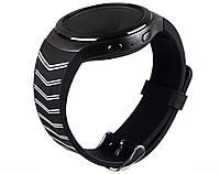 Ремешок для Samsung Gear S2 Sports SM-R720 / SM-R730 силиконовый черный Strip Black, фото 1