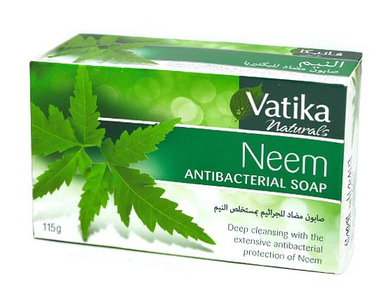 Питательное мыло с нимом Dabur Vatika DermoViva Neem Antibacterial Soap