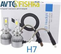 Лід лампи LED С6 лампі основного світла Н7, фото 1