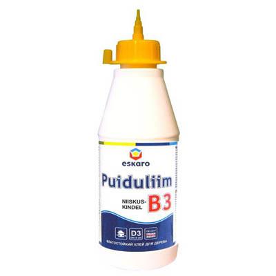 Клей Eskaro для древесины Puiduliim В-3 0.75 л
