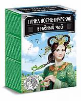 Глина косметическая Зелёный чай DR. SHUSTER® Рецепты медицинских династий, 100 г