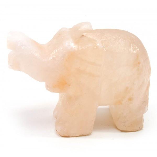 Слон резной из соли (Гималайская соль)(10,5х8х4,5 см)