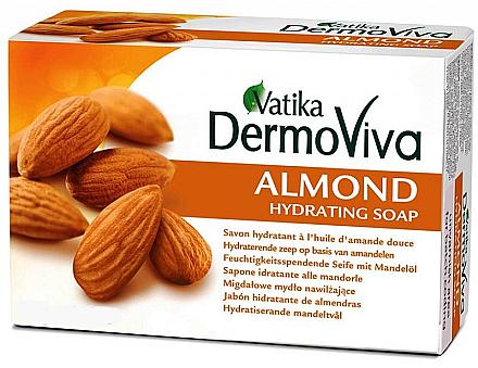 Увлажняющее мыло с экстрактом миндаля Dabur Vatika DermoViva Almond Hydrating Soap
