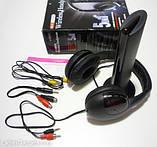 Навушники безпровідні Wireless Headphone - навушники з FM радіо, фото 2
