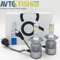 Лед лампи LED С6 лампи основного світла Н4