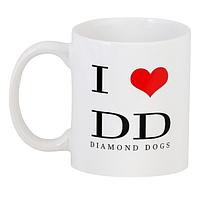 Кружка GeekLand I Love Diamond Dogs 02.01