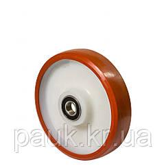 Колесо без кронштейна серія 53, кульковий підшипник, діаметр -100мм