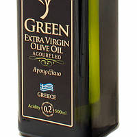 Оливковое масло  Agoureleo Green Extra Virgin Olive Oil Attica Food, 0,5 л, фото 1