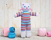 Вязаная кукла «Кошка Люся» ФРЕЯ