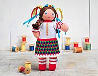 Вязаная кукла Ульянка ФРЕЯ