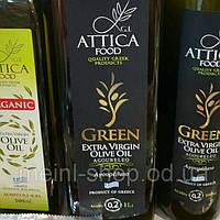 Оливковое масло  Agoureleo Green Extra Virgin Olive Oil Attica Food, 1 л