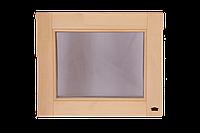 """Окно для бани и сауны 600 х 500 """"глухое"""""""