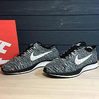 Nike Flyknit Racer Grey 44 и 45 размеры (реплика)