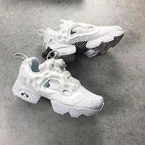 Женские кроссовки Reebok Insta Pump Fury White, фото 2
