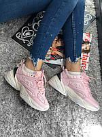 Женские кроссовки Nike MK2 Tekno Pink реплика AAA+