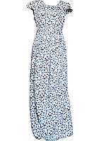 Платье с листочками № 435
