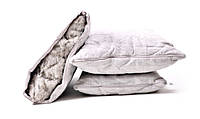 Подушка стеганая с льняным наполнителем ЕКО