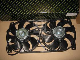 Электровентилятор охлаждения Радиатора ВАЗ-21214 двойной в сборе (DECARO) 21214-1300024-43