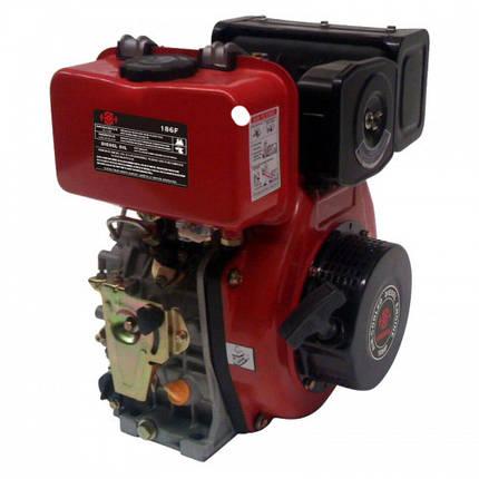 Двигун дизельний BULAT BT186F (9,5 л. с., шліц 25 мм), фото 2