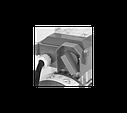 Самовсасывающий реверсивный насос NOVAX 25T (380В) - 2400л/час, фото 4