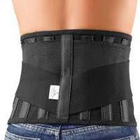 Приспособление ортопедическое для спины и мышц брюшной стенки с отверстием под стому «Стронг» С-3С