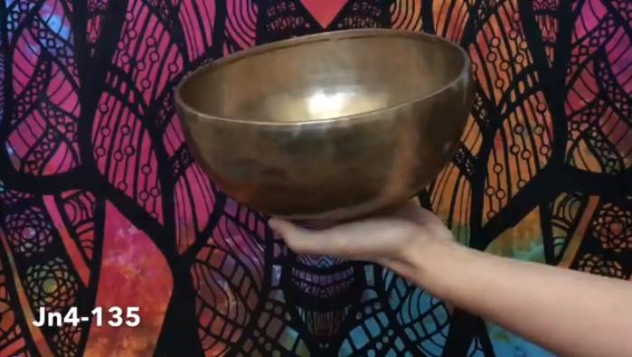 Тибетская поющая чаша (Jn4-135)