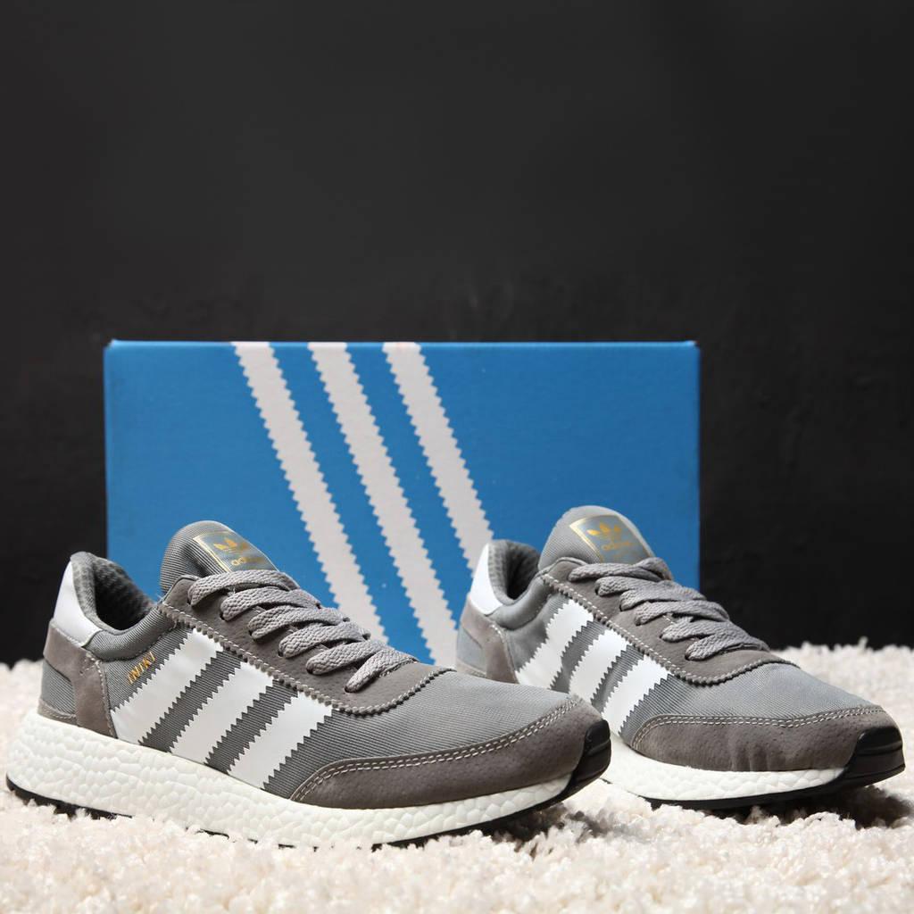 Adidas Iniki Runner Grey (реплика)