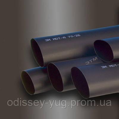 Термоусаживаемые трубки 3М™ Серии MDT-A 38/12 С клеевым слоем 1 метр Черная, фото 1