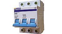 Автоматический выключатель 3p 50 A (ВА-2001-3/50 С50) АскоУкрем