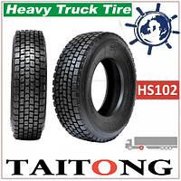 TAITONG HS102 Шина грузовая 315/80R22.5 157/153L ведуча, купить грузовые шины Тайтонг на ведущую ось