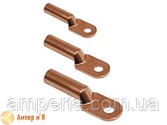 Медный кабельный наконечник для опрессовки DT-185 (ТМ-185, 185-8-5,4-М-УХЛ3)