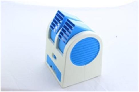 Мини кондиционер Conditioning Air Cooler USB Electric Mini Fan (Air Fan-green), фото 2