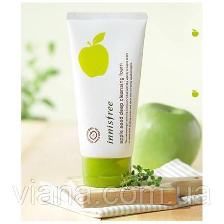 Пенка с экстрактом яблока для глубокого очищения пор innisfree Apple Seed Deep Cleansing Foam 150 мл