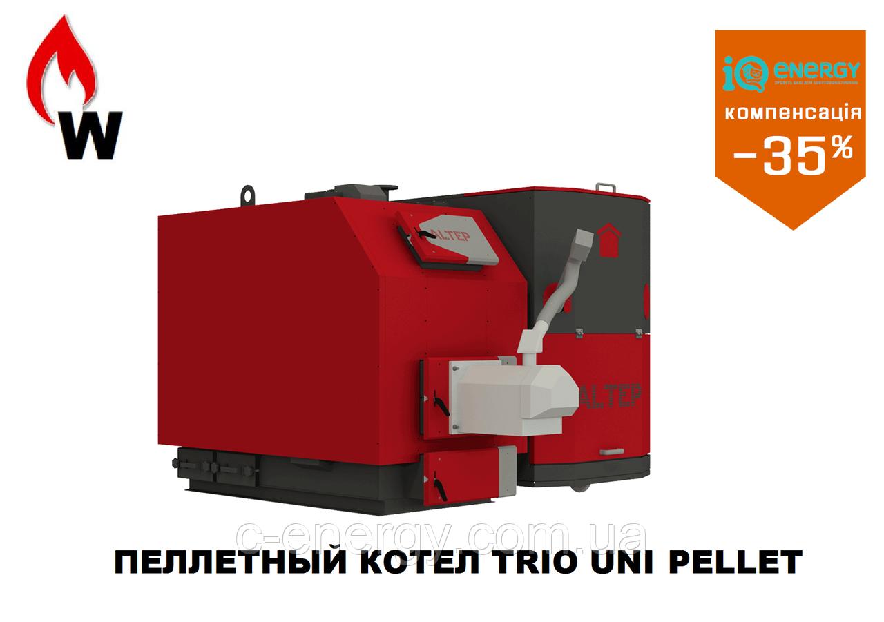 Пелетный  котел Альтеп Trio Uni Pellet 40 кВт + Eco-Palnik UniMax, фото 1