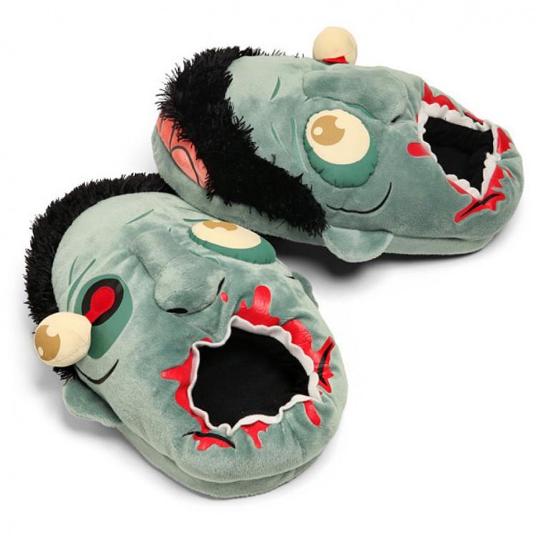 Домашние тапочки Зомби