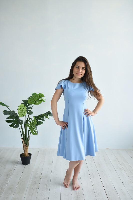 Платье Золушка HIGH HEELS MOM (голубой, размер S/M)