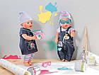 Джинсовая одежда для куклы Baby born Zapf Creation 822210, фото 2