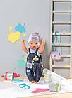 Джинсовая одежда для куклы Baby born Zapf Creation 822210, фото 4