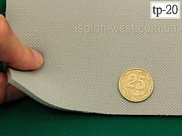Ткань оригинальная потолочная (Германия), светло-серая tp-20, полиэстер на поролоне шир.1.36 м