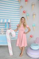 Платье Золушка для беременных и кормящих мам HIGH HEELS MOM (розовый, размер S/M)
