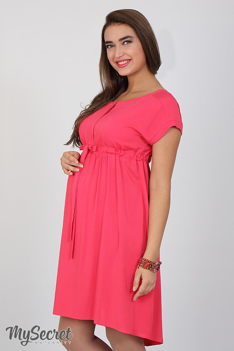 Платье летнее для беременных и кормящих Rossa ЮЛА МАМА (коралловый, размер M)