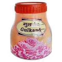 Гульканд - джем из лепестков роз, Divya Patanjali Gulkand, 400г