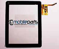 """Оригинальный Сенсор (Тачскрин) для планшета 9.7"""" IconBIT NetTab Space 12 pin (236x183mm) (Черный)"""
