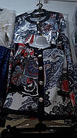 Женская блуза пиджак батал