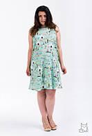 Платье летнее Мама для беременных и кормящих мам HIGH HEELS MOM (зеленый, размер S/M), фото 1