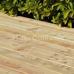 Палубная доска сибирская лиственница 28х120\140 сорт C